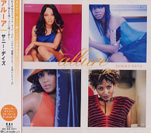 Allure Sunny Days CD album (CDLP) Japanese LLRCDSU222606