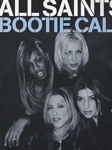 All Saints Bootie Call Uk Sheet Music 320408 Am954569