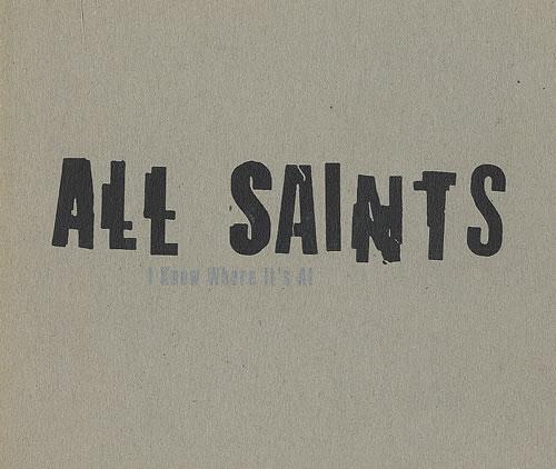 All Saints I Know Where It's At 2-CD single set (Double CD single) UK ASA2SIK434851