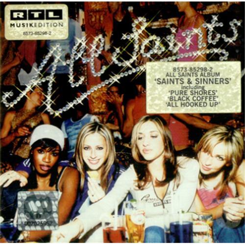 All Saints Saints And Sinners CD album (CDLP) European ASACDSA166535