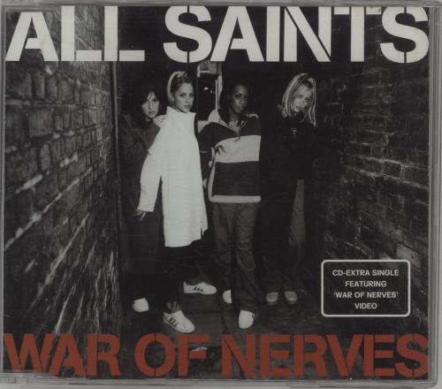 "All Saints War Of Nerves CD single (CD5 / 5"") UK ASAC5WA164541"