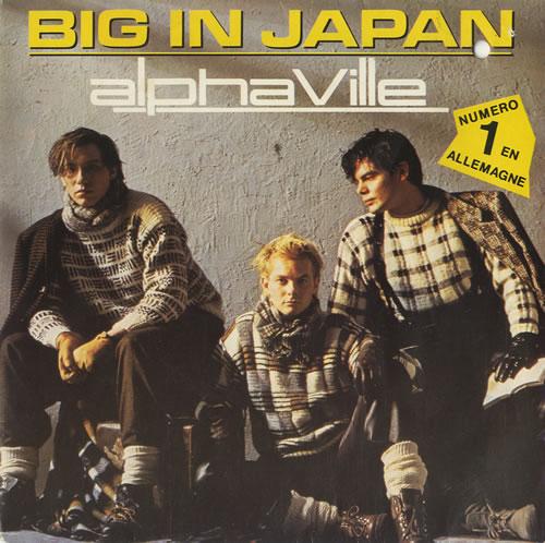 Alphaville Big In Japan French 7 Quot Vinyl Single 7 Inch