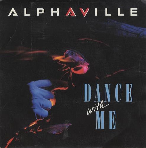 "Alphaville Dance With Me 7"" vinyl single (7 inch record) French ALP07DA182407"