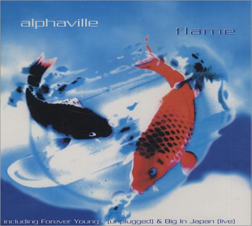 "Alphaville Flame CD single (CD5 / 5"") US ALPC5FL432361"