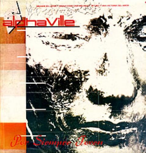 Alphaville Por Siepre Joven vinyl LP album (LP record) Argentinean ALPLPPO235985