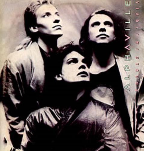 Alphaville Tardes En Utopia vinyl LP album (LP record) Argentinean ALPLPTA235986
