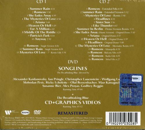 Alphaville The Breathtaking Blue - Deluxe Edition 2-CD+DVD - Sealed 3-disc CD/DVD Set UK ALP3DTH768672