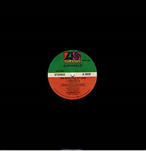 "Alphaville The Mysteries Of Love 12"" vinyl single (12 inch record / Maxi-single) US ALP12TH17954"