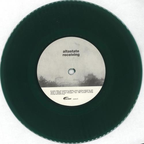 "Altastate Receiving - Green Vinyl 7"" vinyl single (7 inch record) UK QL307RE716322"