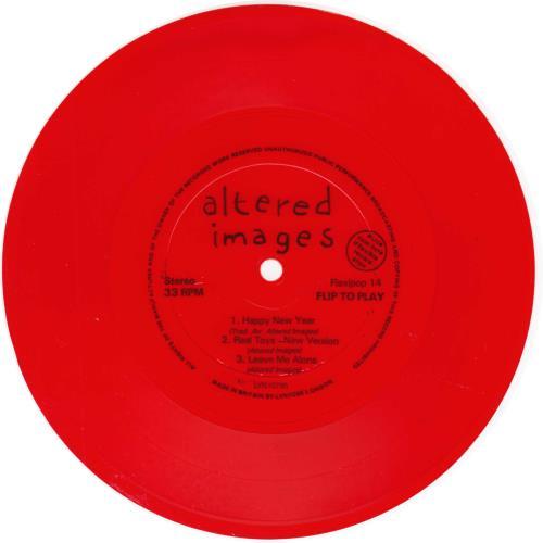 Altered Images Flexipop Issue 14 + Red Flexi magazine UK ALTMAFL172842
