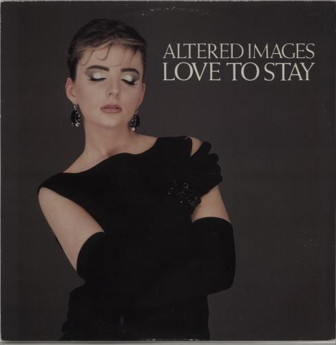 "Altered Images Love To Stay 12"" vinyl single (12 inch record / Maxi-single) UK ALT12LO22738"