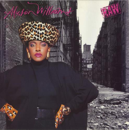 Alyson Williams Raw vinyl LP album (LP record) UK AYWLPRA703867