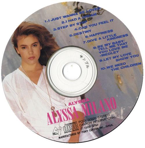 Alyssa Milano Alyssa CD album (CDLP) Japanese ASOCDAL213894