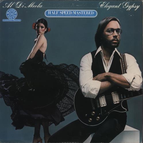Al Di Meola Elegant Gypsy - Half-Speed Mastered vinyl LP album (LP record) US AL5LPEL727113