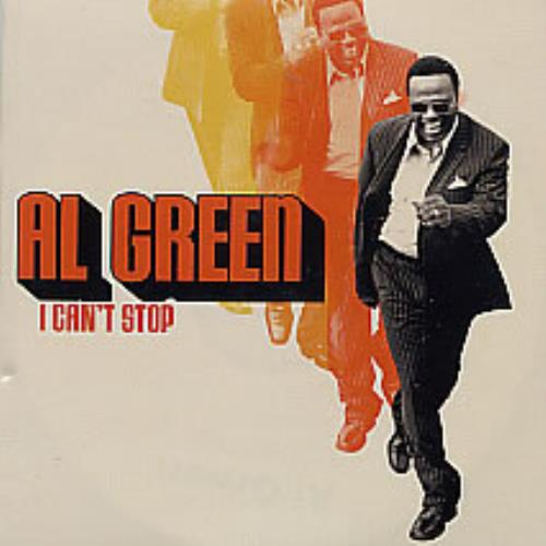 Al Green I Can't Stop CD-R acetate UK AEECRIC263035