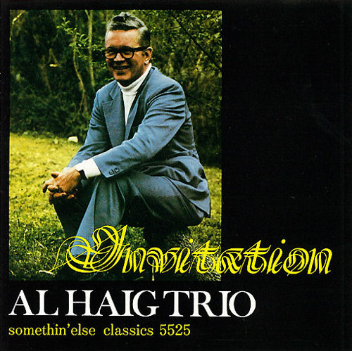 Al Haig Invitation CD album (CDLP) Japanese AHGCDIN549766