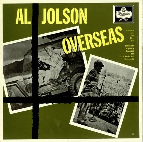 Al Jolson Overseas vinyl LP album (LP record) UK JL7LPOV496866