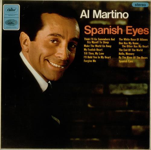 Al Martino Spanish Eyes Uk Vinyl Lp Album Lp Record 548405