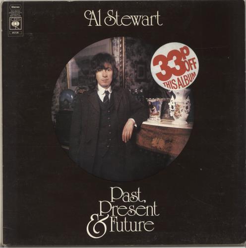 Al Stewart Past, Present & Future - Graduated Orange vinyl LP album (LP record) UK ALSLPPA674941