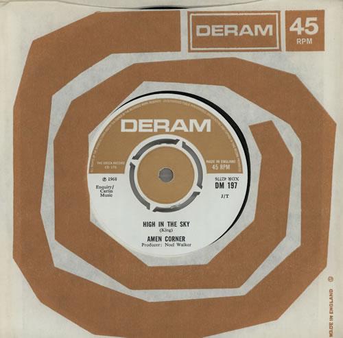 """Amen Corner High In The Sky 7"""" vinyl single (7 inch record) UK AMC07HI405573"""