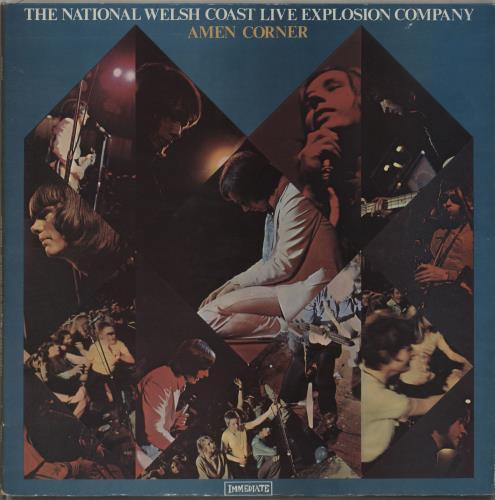Amen Corner The National Welsh Coast vinyl LP album (LP record) UK AMCLPTH673720