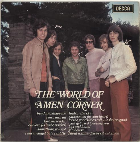 Amen Corner The World Of Amen Corner vinyl LP album (LP record) UK AMCLPTH335338