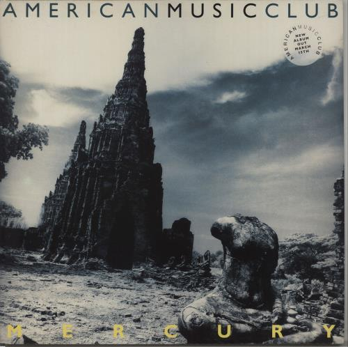 American Music Club Mercury vinyl LP album (LP record) UK AMULPME671307