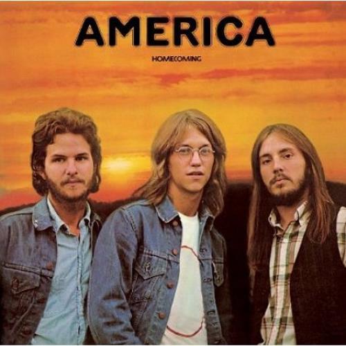 America Homecoming UK vinyl LP album (LP record) (500667)