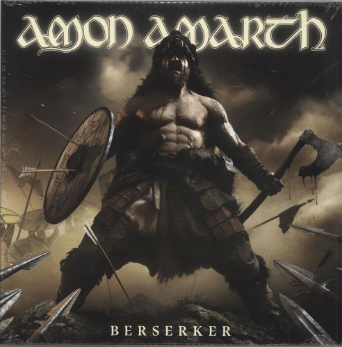 Amon Amarth Berserker - Sealed 2-LP vinyl record set (Double Album) German A822LBE735895
