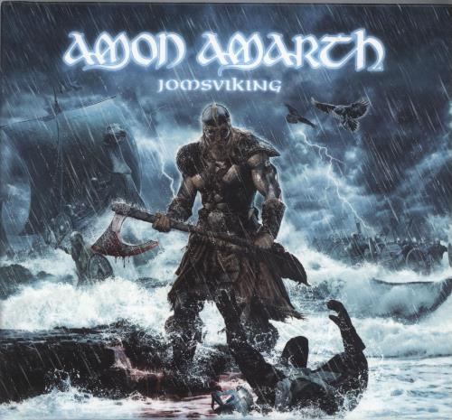 Amon Amarth Jomsviking CD album (CDLP) German A82CDJO701401