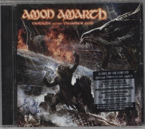 Amon Amarth Twilight Of The Thunder God CD album (CDLP) German A82CDTW743773