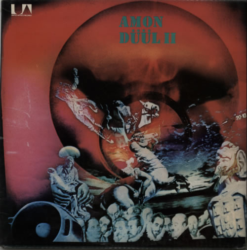 Amon Düül Dance Of The Lemmings - 1st 2-LP vinyl record set (Double Album) UK AMO2LDA606539