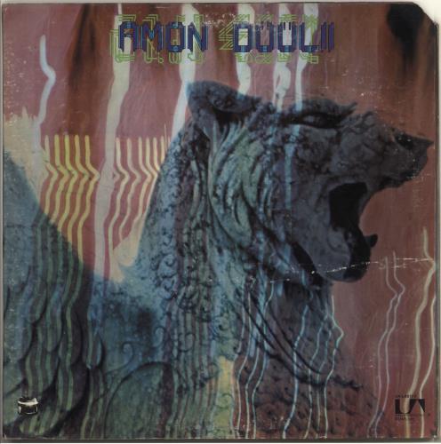Amon Düül Wolf City vinyl LP album (LP record) US AMOLPWO708134