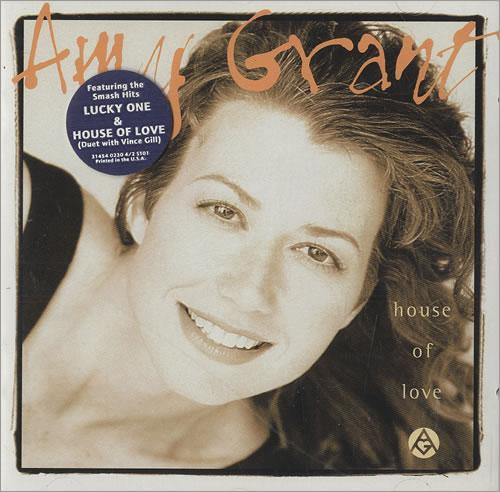 Amy Grant House Of Love CD album (CDLP) US GRACDHO466949