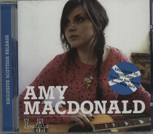 "Amy MacDonald L.A. CD single (CD5 / 5"") UK AIMC5LA681655"