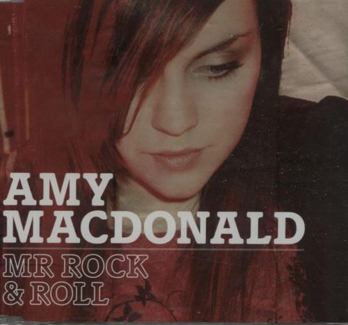 "Amy MacDonald Mr Rock & Roll CD single (CD5 / 5"") UK AIMC5MR617334"