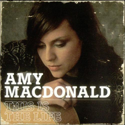 "Amy MacDonald This Is The Life - Album Sampler CD single (CD5 / 5"") UK AIMC5TH538211"