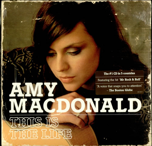 Amy MacDonald This Is The Life vinyl LP album (LP record) US AIMLPTH450296