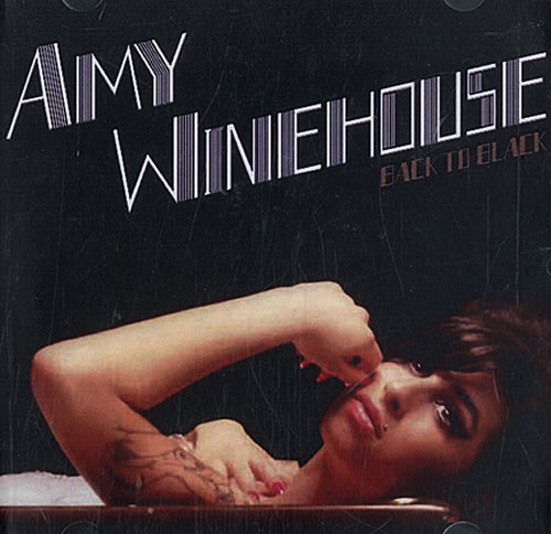 Amy Winehouse Back To Black + Instrumentals CD-R acetate US AWECRBA483392