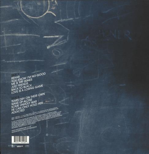 Amy Winehouse Back To Black - 180gm - Sealed vinyl LP album (LP record) UK AWELPBA714746