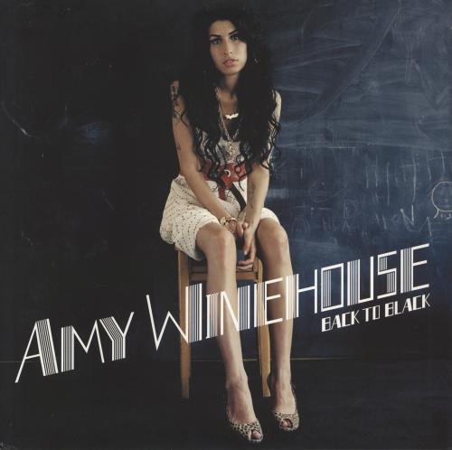 Amy Winehouse Back To Black - 180gm vinyl LP album (LP record) UK AWELPBA771044