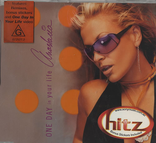 """Anastacia One Day In Your Life CD single (CD5 / 5"""") Australian A.CC5ON494459"""
