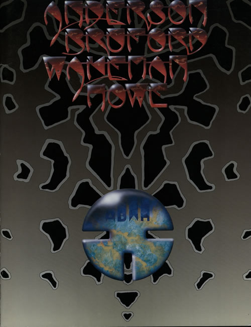 Anderson Bruford Wakeman Howe An Evening Of Yes Music tour programme Japanese ABWTRAN572283