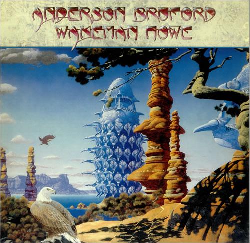 Anderson Bruford Wakeman Howe Anderson Bruford Wakeman Howe vinyl LP album (LP record) German ABWLPAN453889
