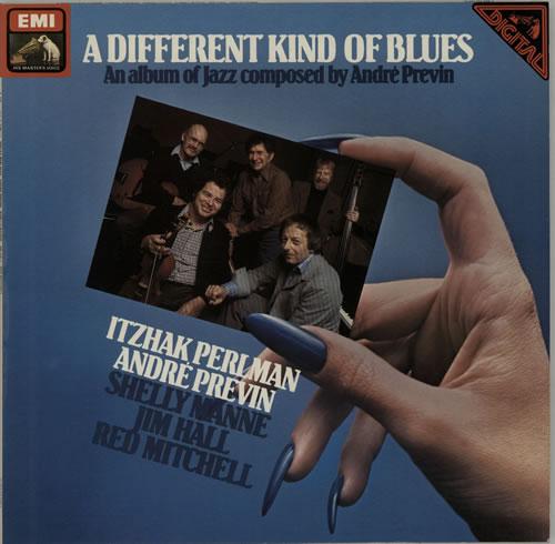 Andr Previn A Different Kind Of Blues Vinyl LP Album Record German AP1LPAD638527