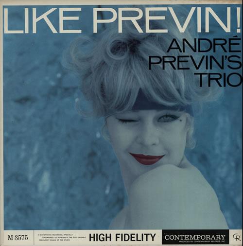 Andr Previn Like Vinyl LP Album Record Canadian AP1LPLI567778