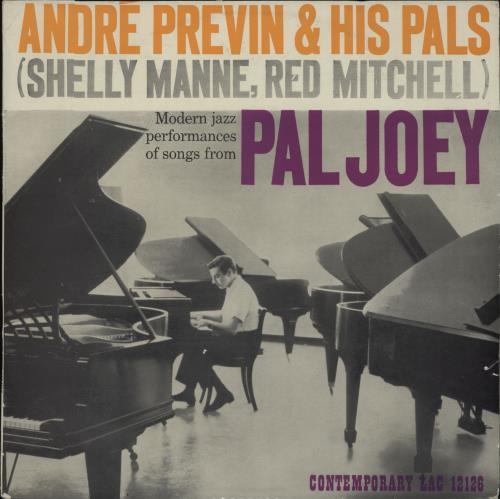 André Previn Pal Joey vinyl LP album (LP record) UK AP1LPPA667871