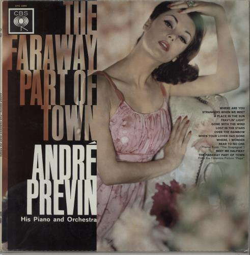 André Previn The Faraway Part Of Town vinyl LP album (LP record) UK AP1LPTH667718