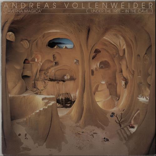 Andreas Vollenweider Caverna Magica (Under The Tree - In The Cave) vinyl LP album (LP record) Dutch VWRLPCA648645