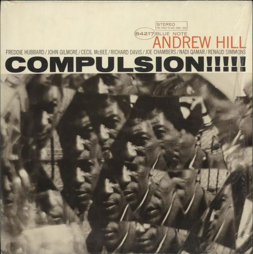 Andrew Hill Compulsion!!!!! - black 'b' label vinyl LP album (LP record) US A2TLPCO707339